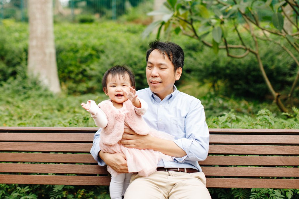 sweet escape hong kong father baby