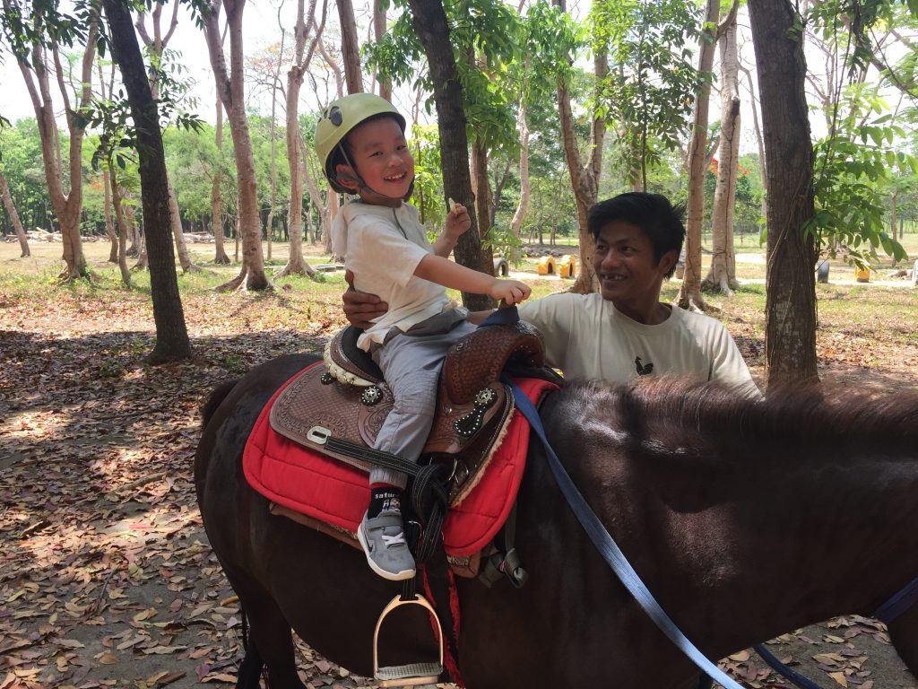 mati the fun farm at sta. elena horseback riding