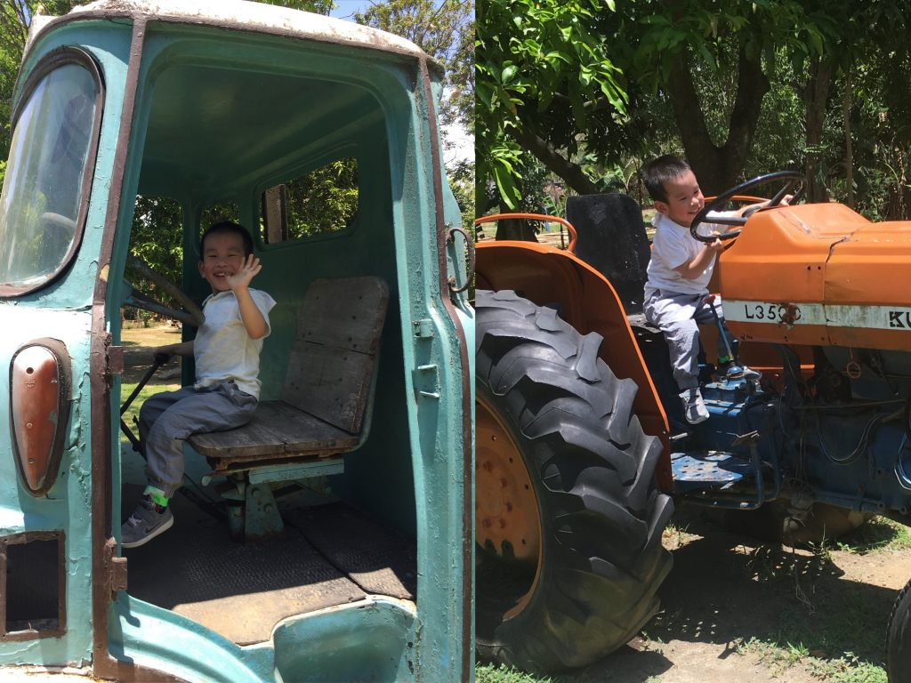 tractor trucks fun farm sta elena kids