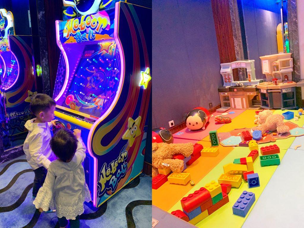 hk hollywood hotel game kiddie room