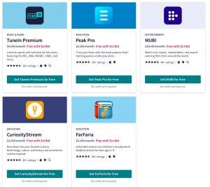 scribd free partner sites
